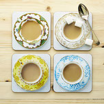 coasters afternoon tea cuppa coaster top tea blogger Christmas gift