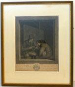 Kupferstich, Adriaen van Ostade, Graveur J. G. Wille, BONS AMIS, € 250,00