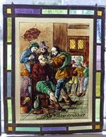 Bleiverglasung-Glasmalerei-De-Kiezentrekker-Zahnarzt , € 135,00