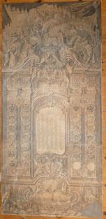 Details zu  Kalender Josef II Kaiser des römischen Reiches, 1784,Kupferstich, 152 cm x 71 cm , € 1500,00