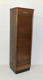 Rolladenschrank, Notenschrank, Art-Deco, Eiche, Büro, 10 Böden, 150,0 cm Hoch,€ 380,00