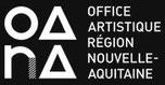 Logo de l'OARA, Office Artistique en Région Nouvelle-Aquitaine