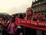 Junge Gemeinde auf dem Kirchentag in Stuttgart