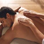 massage du dos pour homme