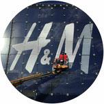 Fase costruttiva durante la realizzazione di un negozio H&M il cui progetto esecutivo è stato affidato all'architetto Nicolò Nigri