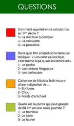Carte questions Pardi