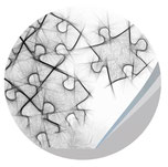 Puzzle-Teile in Kreis, Workshop Power-Paket, Jungo-Grafik