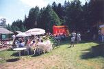 Bild: Teichler Jagdhütte Wünschendorf Erzgebirge