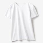 商品番号 18194 ドゥクラッセTシャツ・クルーネック半袖(ホワイト)/DoCLASSE