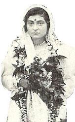 On her wedding day 9th May, 1923 - Ahmednagar