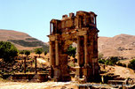Cuicul - Djemila - Arc de triomphe de Caracalla - DZ