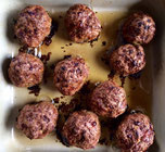 Schnelle Frikadellen aus der Ofenhexe