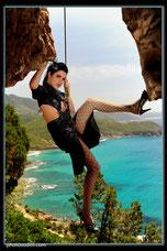 Carola Climbing