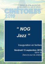 Nog Jazz - Concert Inauguration - Vendredi 12 septembre  - 19 H 15 - Dans la cour du cinéma