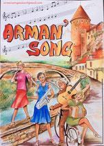 Arman'Song - Concert - Samedi 14 septembre - 20 H - Mont Drejet