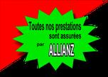 toutes nos prestations sont assurées par ALLIANZ