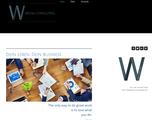 Wicha Consulting (Website, Printmedien und Logo-Design)