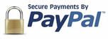 Powered by PayPal Secure payment