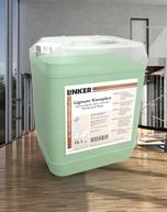 Lignum Komplex_Linker Chemie-Group, Reinigungschemie, Reinigungsmittel, Holzwischpflege, Wischpflege, Holz, Lignum, Wachs, Pakettreiniger