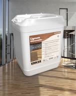 Lignum Glanzwachs_Linker Chemie-Group, Reinigungschemie, Reinigungsmittel, Holzbeschichtung, Holz, Lignum, Wachs, Pakettreiniger