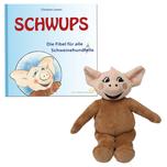 """SCHWUPS Set - mit Fibel und """"Schweinehund"""""""