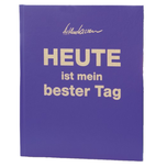 """HEUTE ist mein bester Tag"" - Luxus-Edition Lila"