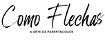 Logo Como Flechas - Preto