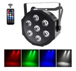 RGB LED Strahler um Akzente zu setzten 8x