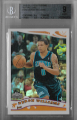 DERON WILLIAMS / Rookie card - No. 200  (#d 783/99 - Refractor)