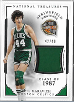 PETE MARAVICH / Springfield Swatches - No. 44  (#d 42/49)