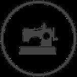 Symbol Naehmaschine