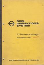 Opel Inspektionssystem