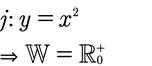 Wertemenge einer Potenzfunktion.
