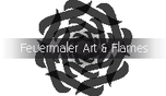 Feuermaler At & Flames Logo