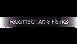 Feuermaler At & Flames Logo