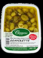 Olive verdi Diavolette