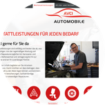 Website Automobile Avci in Miesbach am Tegernsee