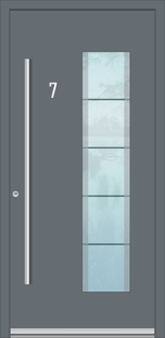 Aluminium Haustüren in Düren mit Ausbau, Montage und Verleistung