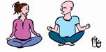 yoga assis lotus zen