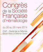 LMC France SFH 2014 SOCIETE FRANCAISE HEMATOLOGIE LEUCEMIE MYELOIDE CHRONIQUE CML LEUKEMIA