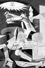 Picasso. Le cheval blessé