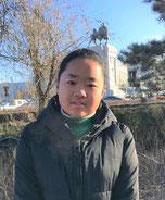 ファンファンさん(13歳) 阿拉善第9中学校