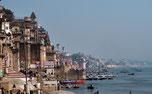 Varanasi / Benares / Kashi, Ganges, Indien, Asien
