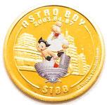 2003年 K24 純金 鉄腕アトム誕生記念 100ドル金貨  シエラレオネ共和国