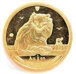 K24 純金 マン島キャット 金貨 コイン