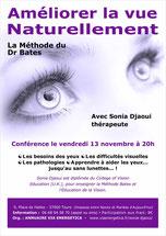 Conférence de Sonia Djaoui à Tours, conférence organisé par Via Energetica, annuaire bien-être en Touraine