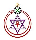 Le logo de la société théosophique - Cliquer pour agrandir