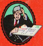 Titelfigur Lizenazausgabe aus Italien von 1952