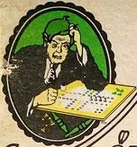 Sehr seltene Titelfigur von 1954 (Fehldruck)
