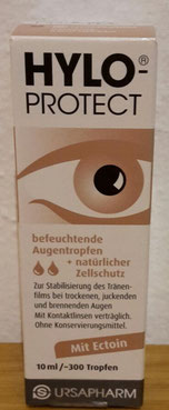 Hylo Protect, Augentropfen Test, Trockene Augen